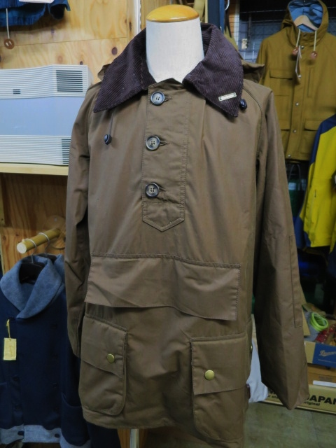 Barbour ・・・ LONG SHOREMAN JACKET!★! 稀少モデル!?_d0152280_12592733.jpg