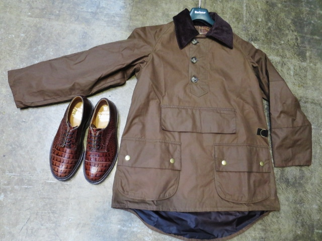 Barbour ・・・ LONG SHOREMAN JACKET!★! 稀少モデル!?_d0152280_12595012.jpg