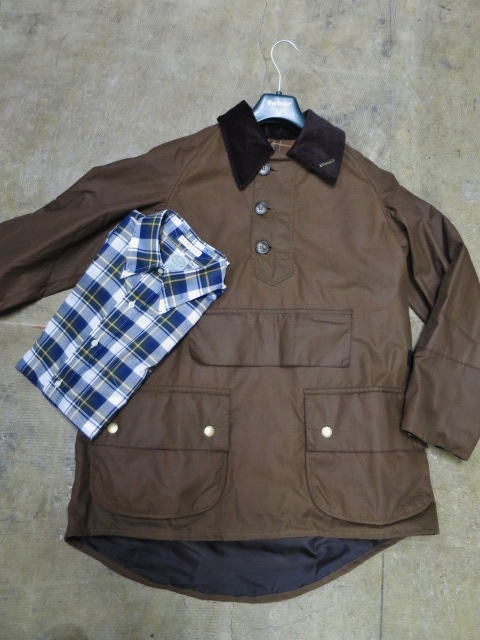 Barbour ・・・ LONG SHOREMAN JACKET!★! 稀少モデル!?_d0152280_130139.jpg
