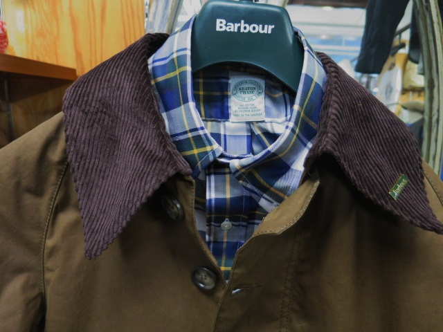 Barbour ・・・ LONG SHOREMAN JACKET!★! 稀少モデル!?_d0152280_1301739.jpg