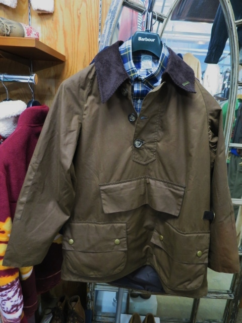 Barbour ・・・ LONG SHOREMAN JACKET!★! 稀少モデル!?_d0152280_130967.jpg