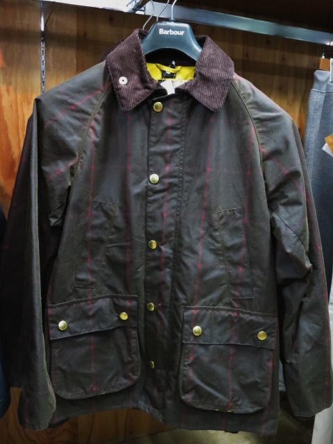 Barbour ・・・ LONG SHOREMAN JACKET!★! 稀少モデル!?_d0152280_1311626.jpg