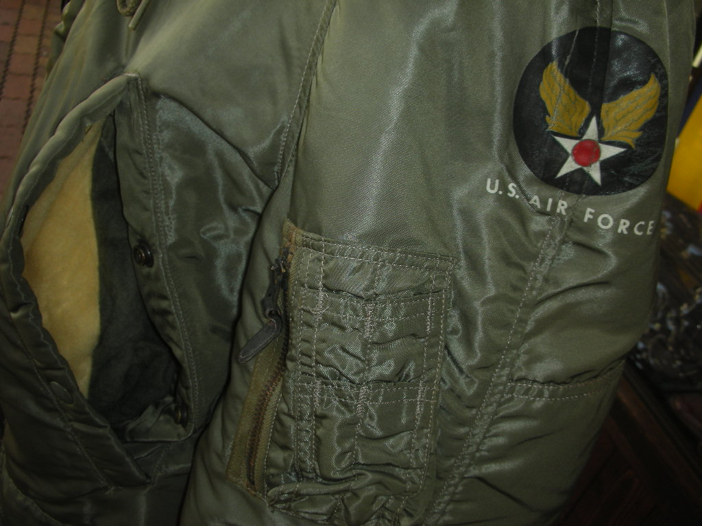 1962\'S USAF FLYING JACKET TYPE N-3B PARKA SZ/SMALL 詳細画像_c0187684_1433335.jpg