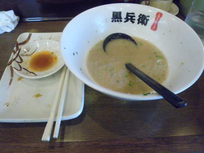 九州ラーメン黒兵衛  宝塚店_c0118393_14461176.jpg