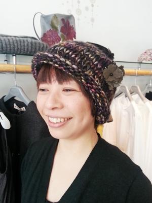 Akio Hirataのニット帽_b0122805_10474810.jpg