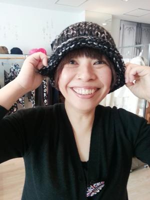 Akio Hirataのニット帽_b0122805_10483627.jpg