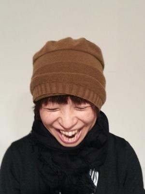 Akio Hirataのニット帽_b0122805_10485186.jpg