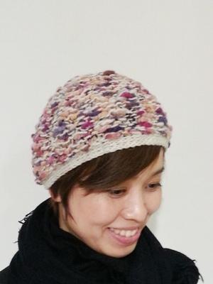 Akio Hirataのニット帽_b0122805_10485977.jpg
