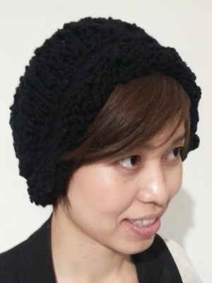 Akio Hirataのニット帽_b0122805_10492322.jpg