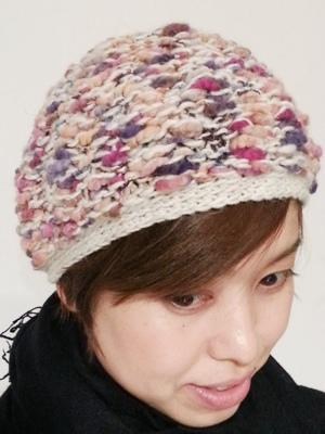 Akio Hirataのニット帽_b0122805_10494100.jpg