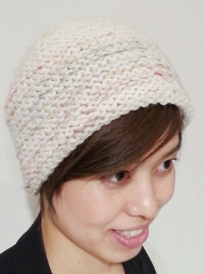 Akio Hirataのニット帽_b0122805_1049894.jpg