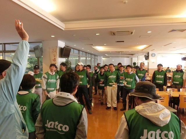 「よき企業市民」に 中塚社長を始め120名以上のジヤトコの皆さんに参加いただいたヒガンバナの植付け作業_f0141310_7412766.jpg