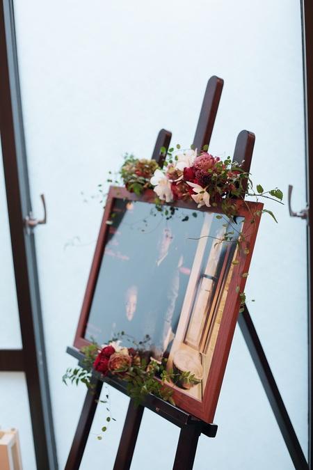 秋の装花 軽井沢万平ホテル様へ 紅葉のころ 錦秋_a0042928_1932332.jpg