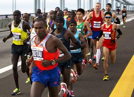 ニューヨークシティー・マラソン...