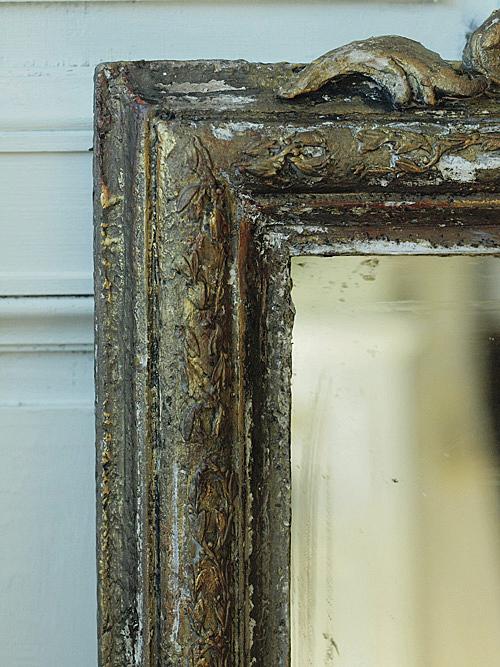 現行品の鏡をリメイク(アンティーク風塗装)_e0172847_11193825.jpg
