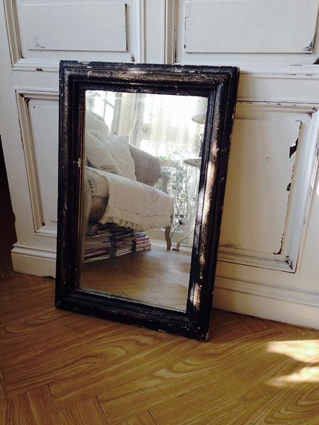 現行品の鏡をリメイク(アンティーク風塗装)_e0172847_11205590.jpg