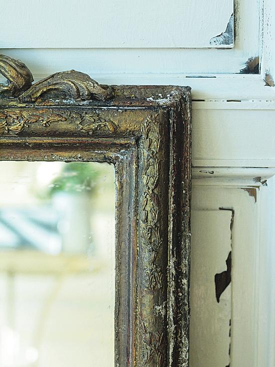 現行品の鏡をリメイク(アンティーク風塗装)_e0172847_1210960.jpg