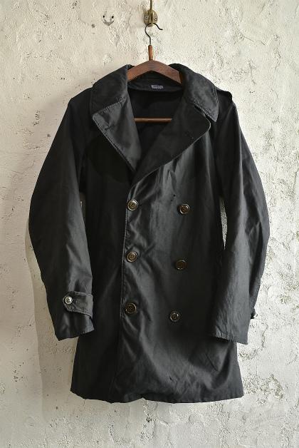 U.S. army cotton trench coat squat version_f0226051_14164616.jpg