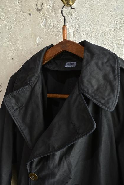 U.S. army cotton trench coat squat version_f0226051_14174262.jpg