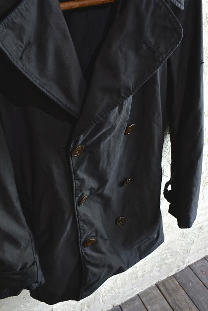 U.S. army cotton trench coat squat version_f0226051_1418326.jpg