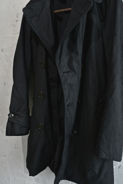 U.S. army cotton trench coat squat version_f0226051_14185611.jpg