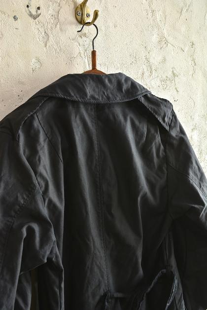 U.S. army cotton trench coat squat version_f0226051_14192886.jpg