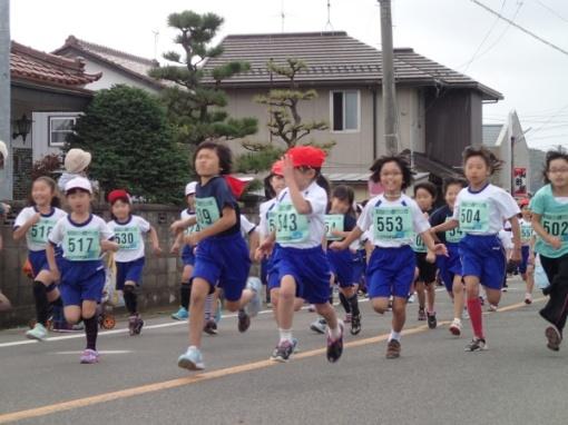 第26回あだたら健康マラソン大会/先導_a0279883_23353553.jpg
