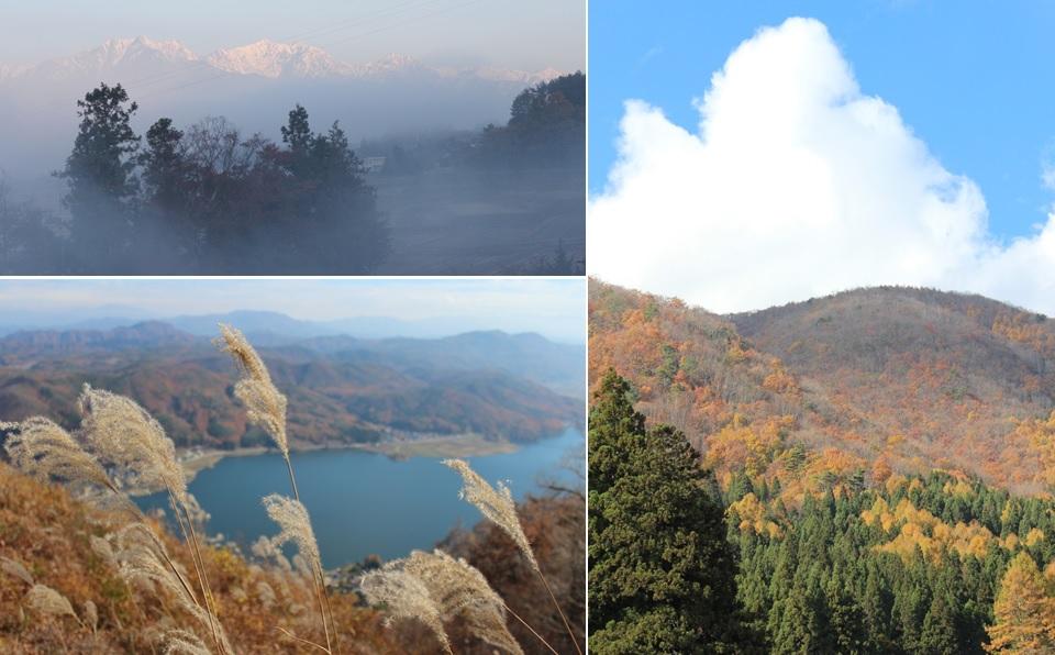 白い霧と黄金色の里_a0212730_2031677.jpg