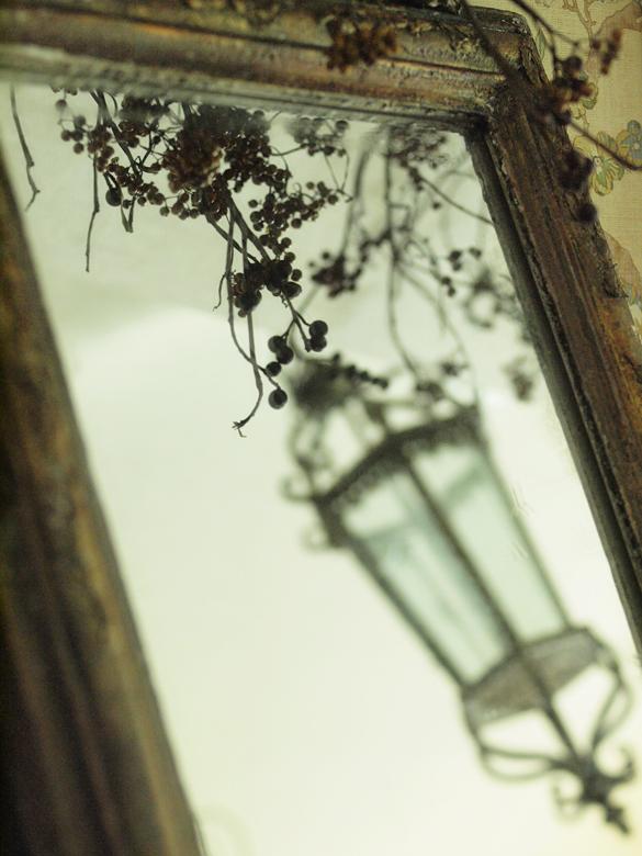 現行品の鏡をリメイク(アンティーク風塗装)_e0172847_830893.jpg