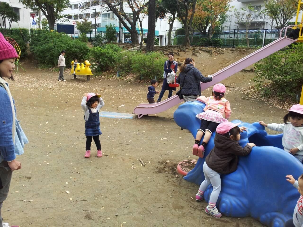 公園&朝の時間♪(宮前平教室)_a0318871_19555546.jpg