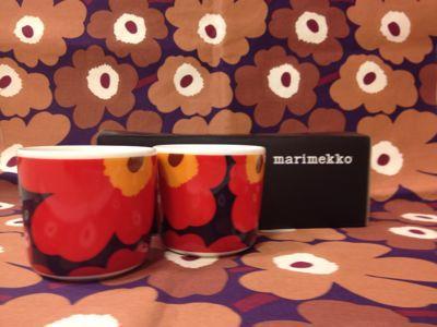 marimekkoのカップ入荷☆_e0112378_11102748.jpg
