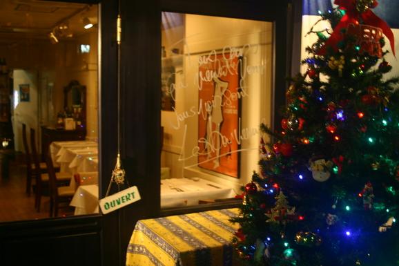 クリスマスメニュー 税込4320円と税込6480円の2種類です。_e0190216_17324295.jpg