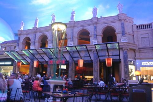 2014.09 LAS&SFO ⑫ Treviで夕食@フォーラムショップス_e0219520_17003255.jpg