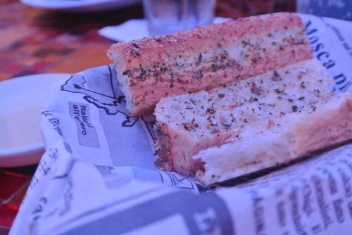 2014.09 LAS&SFO ⑫ Treviで夕食@フォーラムショップス_e0219520_17110371.jpg
