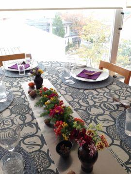 2014年11月料理教室 蕪のすりながし 白トリュフの薫り 豚肉とかぼちゃ セミフレッドと梨キャラメリゼ_e0134337_1005289.jpg