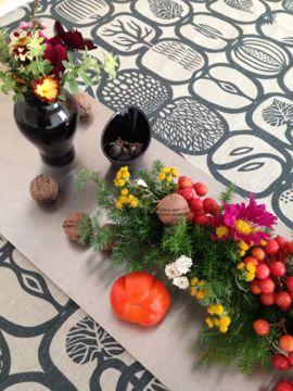 2014年11月料理教室 蕪のすりながし 白トリュフの薫り 豚肉とかぼちゃ セミフレッドと梨キャラメリゼ_e0134337_1011185.jpg