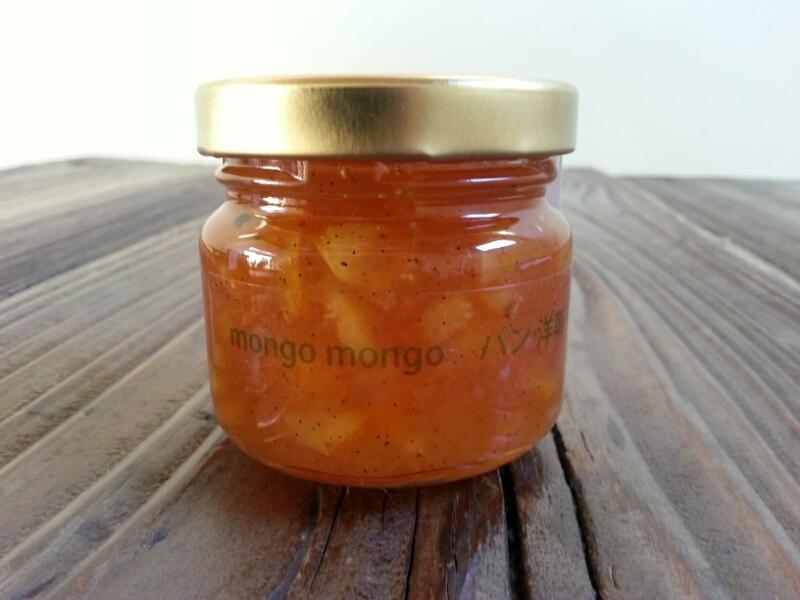 new!! mongo mongo jam syrup『白いちじくとオレンジのジャムシロップ』_a0121154_2043037.jpg
