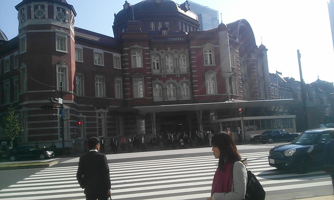 東京駅にて_f0322193_22193396.jpg
