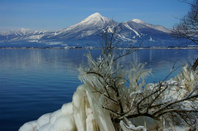 【福島】しぶき氷と磐梯山_c0348200_16162955.jpg