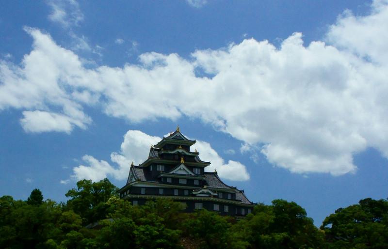 【岡山】雲と空と城と_c0348200_16164002.jpg