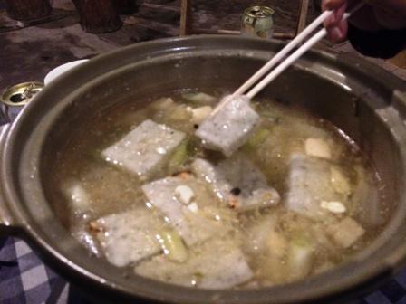 第22回ゆるトーーク~竹鶏シャモ&セルバチコ鍋_d0072903_11421435.jpg