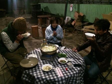 第22回ゆるトーーク~竹鶏シャモ&セルバチコ鍋_d0072903_1142359.jpg