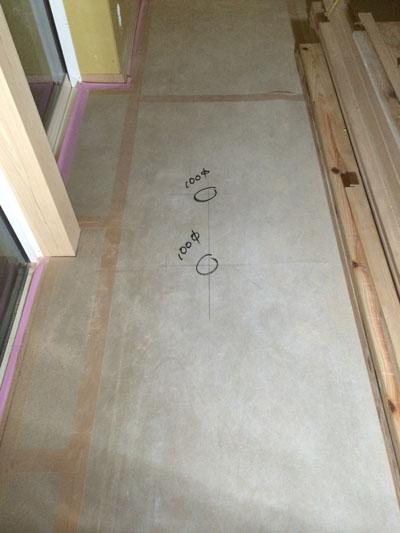 床にマーク_a0148909_1038895.jpg