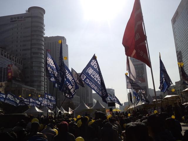 11月9日、韓国・民主労総全国労働者大会に参加_d0155415_17334699.jpg