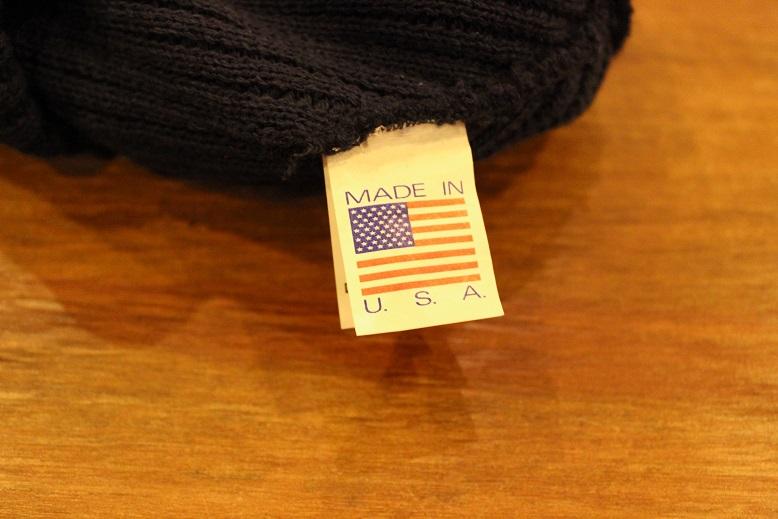 "SLOW \""HEADWEAR TOOLS ~U.S.NAVY TYPE WATCH CAP~\"" ご紹介_f0191324_9235417.jpg"