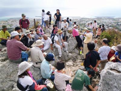 伊江島の地質観察会_c0180460_22595599.jpg