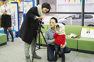 11/8(土)世田谷郵便局にて「写真年賀状用ポートレート撮影会」を開催しました!_b0043961_1448576.jpg