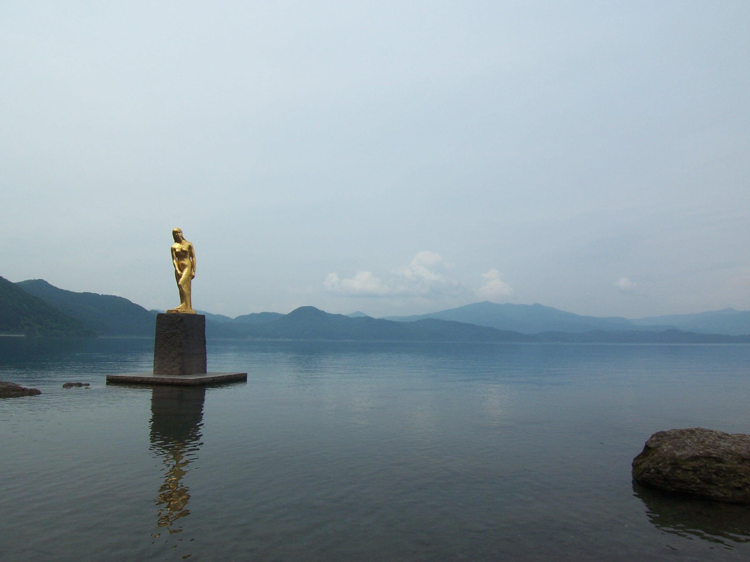 【秋田】日本一深い湖_c0348200_22024558.jpg
