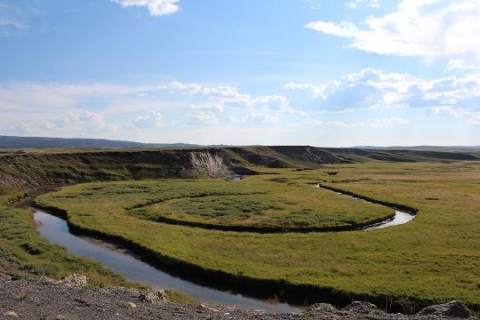 家族旅行2014年08月-北米-イエローストーン・グランドティトン-第五日目-イエローストーン・ノーリスガイザー/マッドボルケーノ_c0153302_18364681.jpg