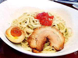 麺や@米子 ★☆ (バジルつけ麺・11月限定)_f0080612_2135343.jpg